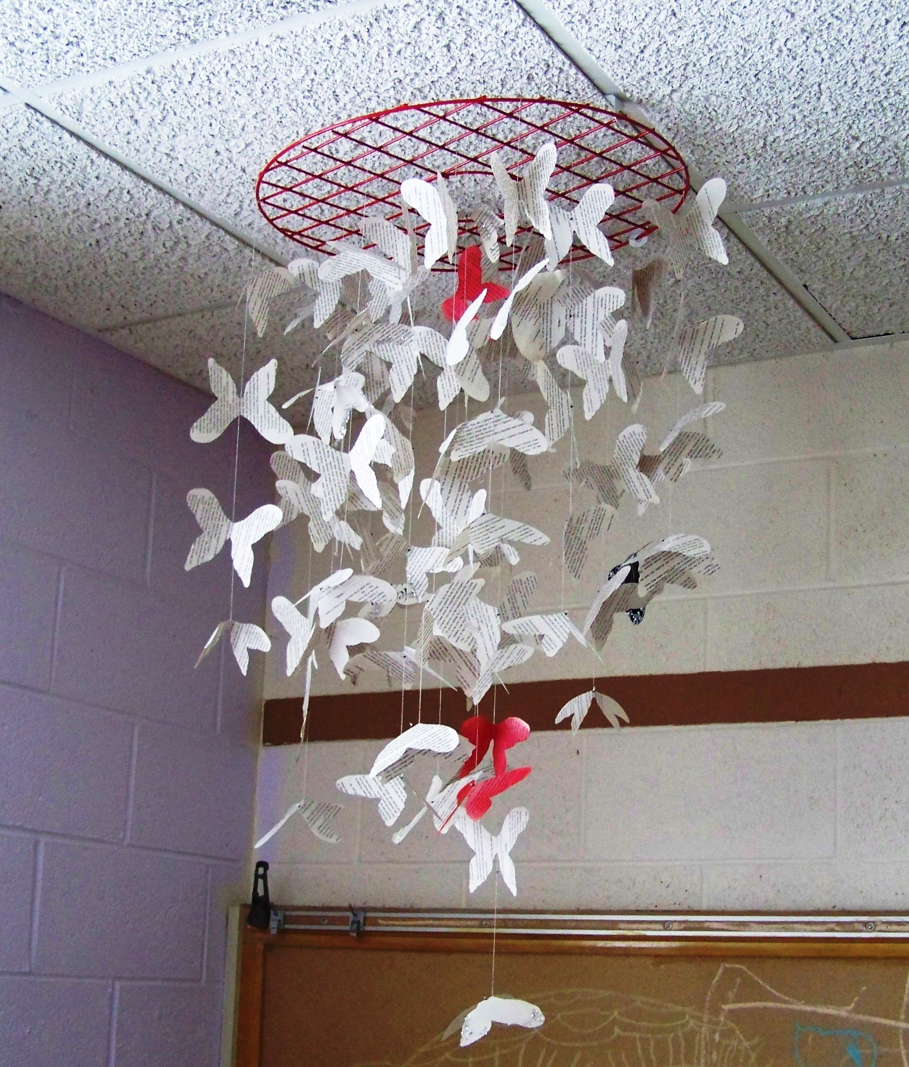 Paper butterfly art crystal rayne for Paper art butterfly